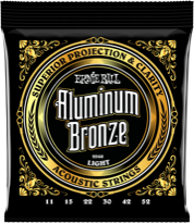 Aluminum Acoustic Strings
