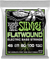 Flatwound Slinky Bass Strings